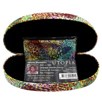 Utopia Aboriginal Art Glasses Case - Firesparks