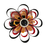 Aboriginal Hair Band - Rosette Clip