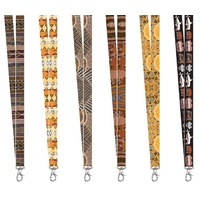 Munupi Aboriginal Art Lanyards - (Pkt 12)