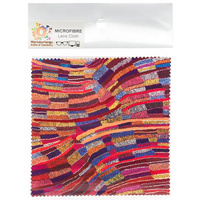 Warlukurlangu Aboriginal Art Microfibre Lens Cloth - River Dreaming