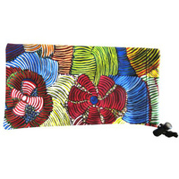 Utopia Aboriginal Art Microfibre Sunglasses Pouch - Pencil Yam