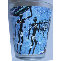 Bunabiri Aboriginal Shot Glass - Hunters N Gatherers