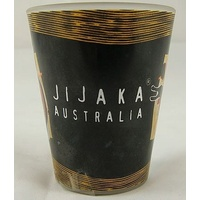 Jijaka Aboriginal Shot Glass - Crocodile/Kangaroo