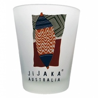 Jijaka Aboriginal Shot Glass - Ceremonial Shield 1