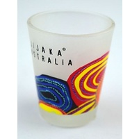 Jijaka Aboriginal Shot Glass - Firestones