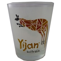 Yijan Aboriginal Shot Glass - Wallaroo Hunt