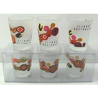 Jijaka Shot Glass Set (3) - Desert Journey
