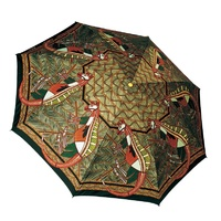 Churinga Aboriginal Folding Umbrella - Bamburr Kangaroo