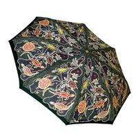 Churinga Aboriginal Folding Umbrella- Turtle & Goanna