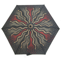 Outstations Folding Umbrella - Bush Roots