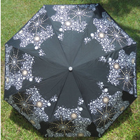 Warrina Aboriginal design Folding Umbrella