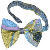 Outstations Bowtie - Kangaroo Story (Blue)