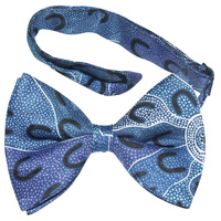 Bowtie -  Crow Women Dreaming (Blue)