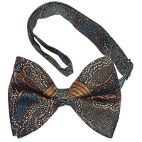 Yijan Bowtie -  Fire N Water (Brown)
