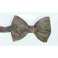 Yijan Bowtie -  Women Travel Dreaming (Green/Gold)