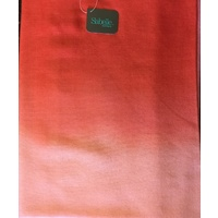 Sabelle Merino Wool & Silk Scarf - Pink and Red