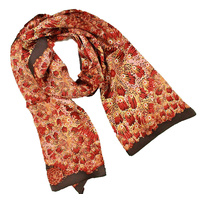 Warrina Silk Scarf - Bush Banana [Red]