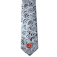 Better World Aboriginal Art Silk Tie - Big Women's Story