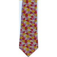 Scorched Earth Polyester Tie (T6003)