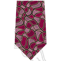 Scorched Earth Polyester Tie (T6006) [Pink]