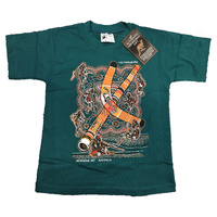 Aboriginal design Kids T-Shirt - Corroboree (Teal)