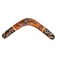 Returning 3 Ply Aboriginal Boomerang - Traditional