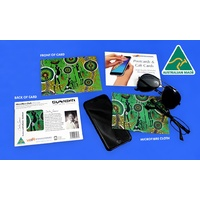 Bunabiri Microfibre Cloth Giftcard - Hunters & Gatherers Rainforest