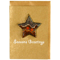 BWA Christmas Decoration Card - Sandhills