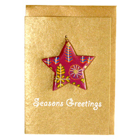 BWA Christmas Decoration Card - Bush Medicine Plants
