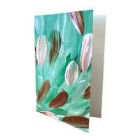 Utopia Aboriginal Art Gift Card - Leaves