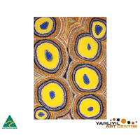 Yarliyil Aboriginal Art Recycled Giftcard/Env - My Father's Country