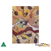 Yarliyil Aboriginal Art Recycled Giftcard/Env by Bush Potatoes