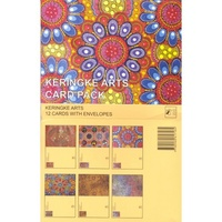 Keringke Aboriginal Arts Giftcard Set (12) - Orange