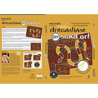 DIY Dreamtime Aboriginal Art Sand Art Kit - The Rainbow Snake