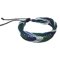 TSI Wristband - 3 Col Braided