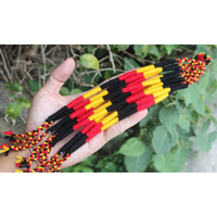 Aboriginal Wristband - Wool Braid Tie