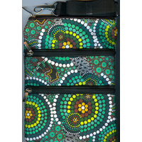 Bunabiri 3Z Shoulder Bag - Green Hands