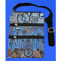 Bunabiri 3Z Shoulder Bag - Hunters & Gatherers Reef