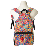 Warlukurlangu Fold Up Backpack - Judy Watson