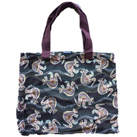 Canvas Bag - Black Kangaroo