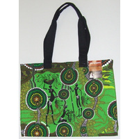 Bunabiri Aboriginal Canvas Bag - Hunters & Gatherers