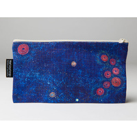 Warlukurlangu Cotton Zip Bag - Seven Sisters Dreaming