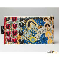 Yarliyil Aboriginal Art Cotton Zip Bag -