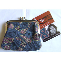Yijan Coin  Purse - Women's Travelling Dreaming (Slate)