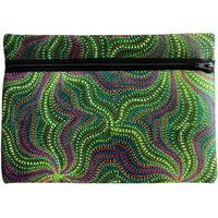 Utopia Aboriginal Art Zipped Neoprene Case - Wildflowers