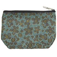 Yijan 1Z Cosmetic Purse - Women's Ceremony at Yuelamu (Blue)