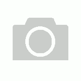 Bunabiri Aboriginal Art 3 Zip Cosmetic Purse - Blue Water Turtle
