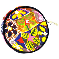 Yijan Round Coin Purse - Waterlillies