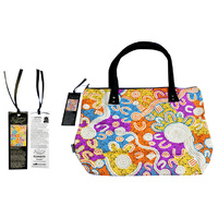 Bunabiri Aboriginal Art Dreaming Collection Handbag - Water Dreaming