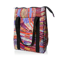 Warlukurlangu Aboriginal Art Insulated Lunch Bag - River Dreaming